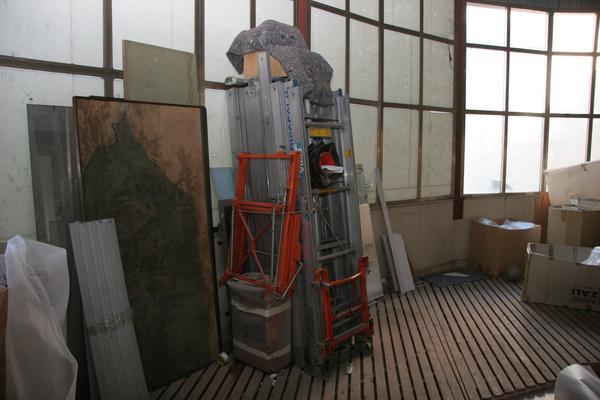 Immagine n. 3 - 5#3696 Scala montacarichi elevatrice elettrica Geda