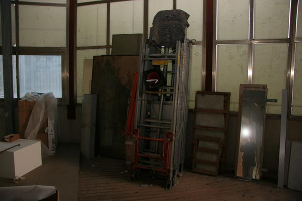 Immagine n. 6 - 5#3696 Scala montacarichi elevatrice elettrica Geda