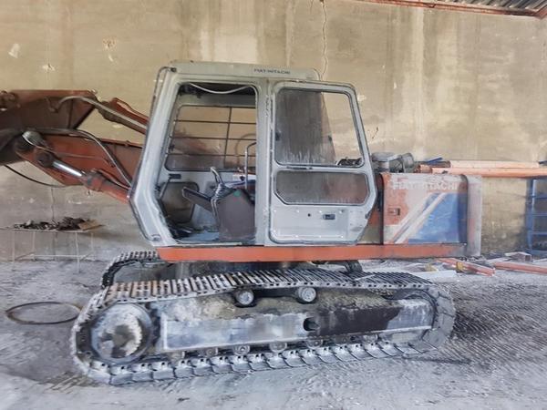 Immagine n. 1 - 2#3707 Escavatore cingolato Fiat Hitachi FH 150 T