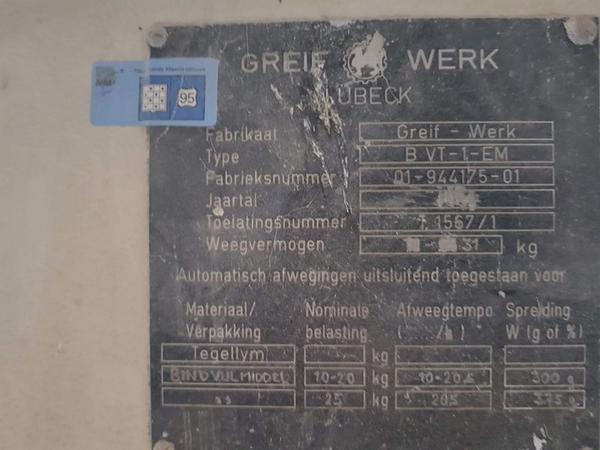 Immagine n. 3 - 9#3707 Insaccatrice elettronica Grief Werk TEV 25