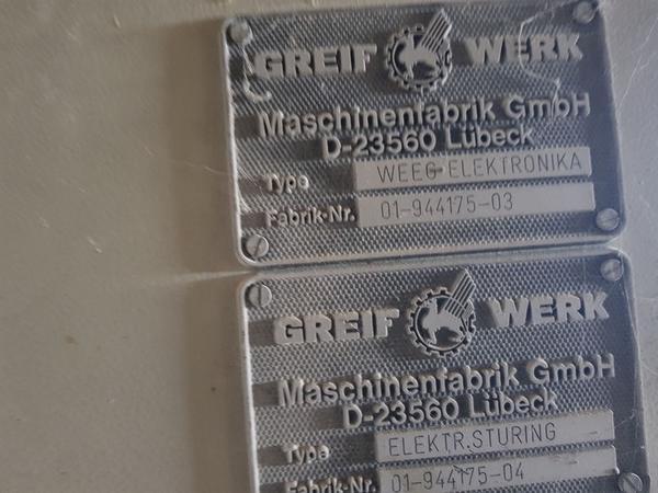 Immagine n. 4 - 9#3707 Insaccatrice elettronica Grief Werk TEV 25