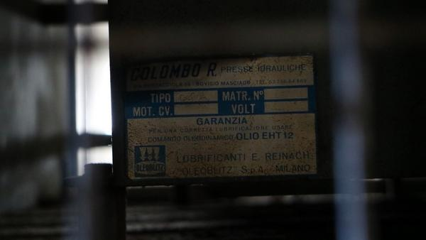 Immagine n. 7 - 9#3709 Linea automatica di pressaggio Colombo