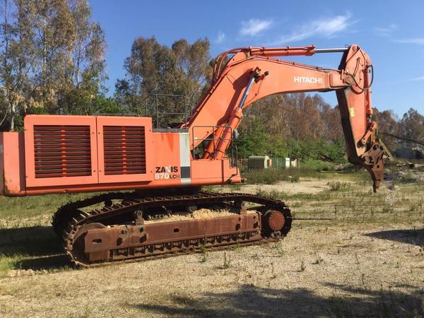 1#3723 Escavatore Hitachi ZX 870 LCH-5