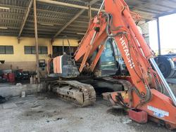 Crawler excavator and nebulizer cannon - Lote  (Subasta 3724)