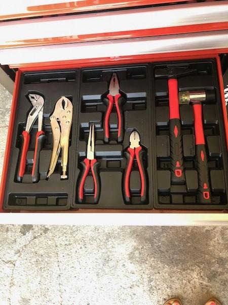 Immagine n. 4 - 46#3727 N° 1 carrello porta utensili Germany Tools Professional completi di utensili