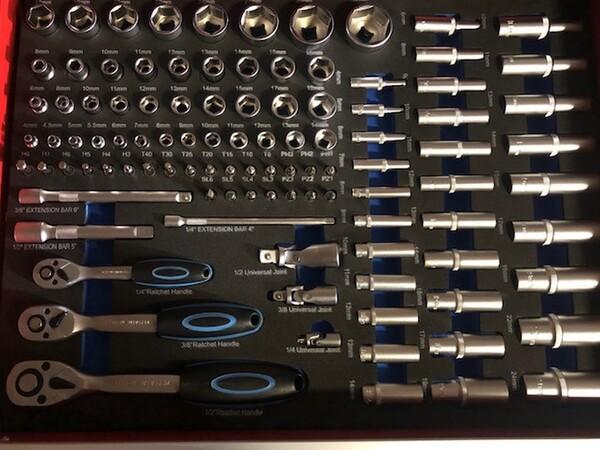 82#3727 N° 1 carrello porta utensili Germany Tools Professional completi di utensili in vendita - foto 3