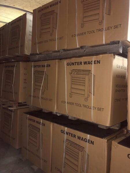 82#3727 N° 1 carrello porta utensili Germany Tools Professional completi di utensili in vendita - foto 9