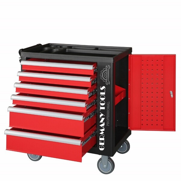 83#3727 N° 2 carrelli porta utensili Germany Tools Professional completi di utensili in vendita - foto 1