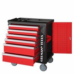N° 5 carrelli porta utensili Germany Tools Professional completi di utensili - Lotto 87 (Asta 3727)