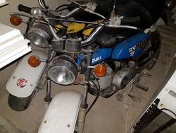 Suzuki motorbike - Lot 3 (Auction 3728)