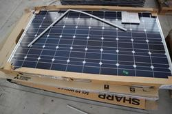 Sharp Photovoltaic panels - Lot 625 (Auction 3749)