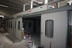 Imea paint booth - Lot 7 (Auction 3751)