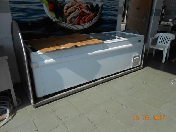2#3753 Banco refrigerato Maxi e segaossa AMB