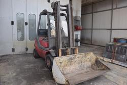 Linde forklift truck - Lot 34 (Auction 3756)