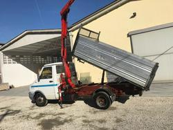 Iveco dump truck and Fassi F30A 22 crane - Lot 1 (Auction 3766)