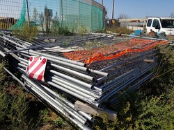Wire mesh fence and construction site equipment - Lot 0 (Auction 3769)