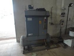 Atlas Copco air compressor - Lot 26 (Auction 3774)