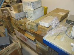 Attrezzature da officina e magazzino materiale elettrico - Asta 3787
