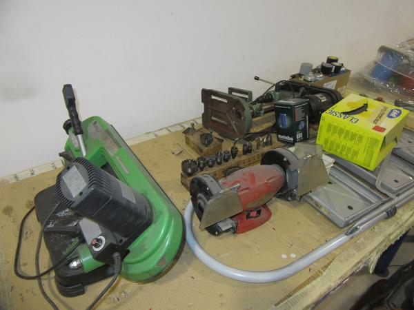 Lotto attrezzature e macchinari da officina for Paranco elettrico brico