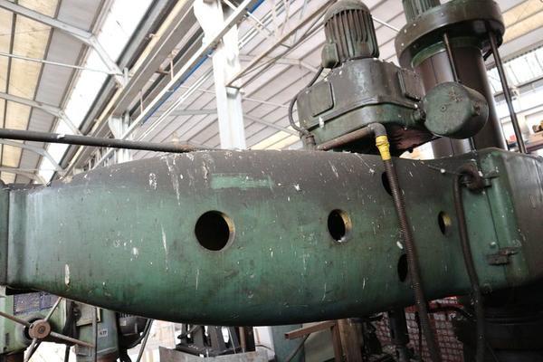 Immagine n. 6 - 1#3793 Trapano radiale HCP e prodotti finiti per pali antenne