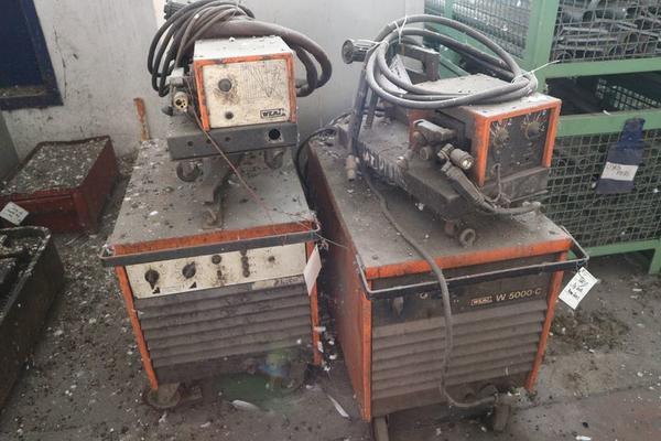 Immagine n. 7 - 1#3793 Trapano radiale HCP e prodotti finiti per pali antenne