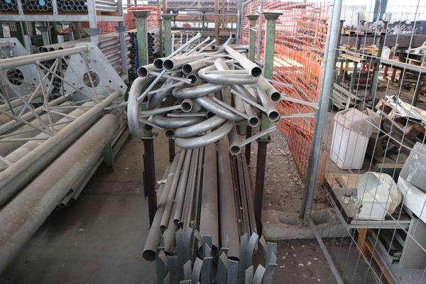 Immagine n. 10 - 1#3793 Trapano radiale HCP e prodotti finiti per pali antenne