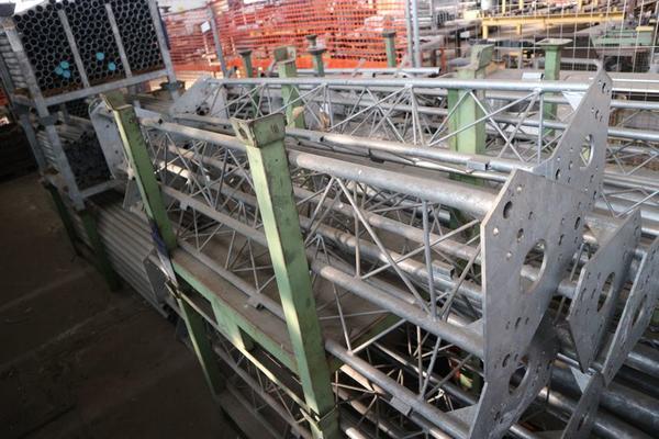 Immagine n. 13 - 1#3793 Trapano radiale HCP e prodotti finiti per pali antenne