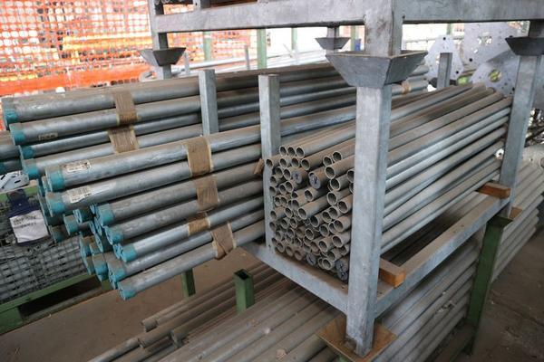 Immagine n. 16 - 1#3793 Trapano radiale HCP e prodotti finiti per pali antenne