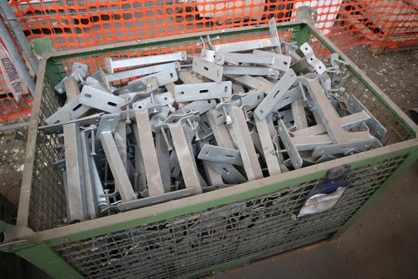 Immagine n. 19 - 1#3793 Trapano radiale HCP e prodotti finiti per pali antenne
