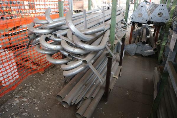 Immagine n. 20 - 1#3793 Trapano radiale HCP e prodotti finiti per pali antenne