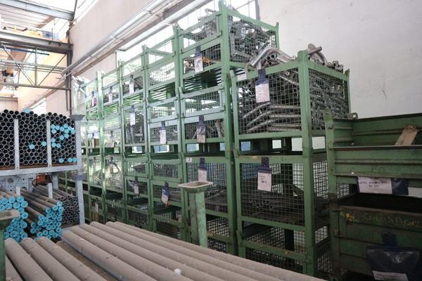 Immagine n. 26 - 1#3793 Trapano radiale HCP e prodotti finiti per pali antenne