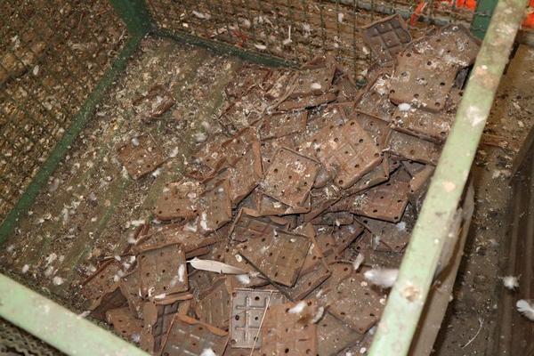 Immagine n. 32 - 1#3793 Trapano radiale HCP e prodotti finiti per pali antenne