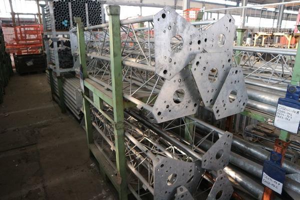 Immagine n. 50 - 1#3793 Trapano radiale HCP e prodotti finiti per pali antenne
