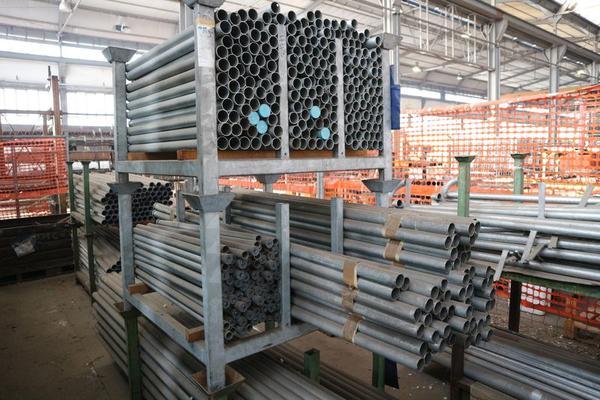 Immagine n. 53 - 1#3793 Trapano radiale HCP e prodotti finiti per pali antenne