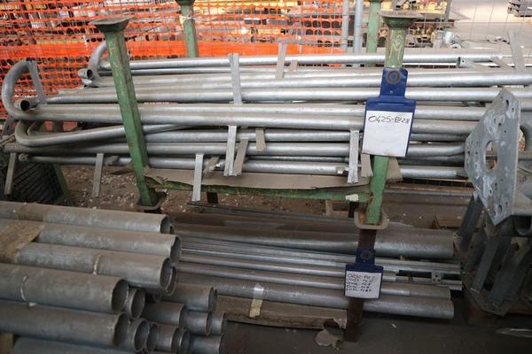 Immagine n. 54 - 1#3793 Trapano radiale HCP e prodotti finiti per pali antenne