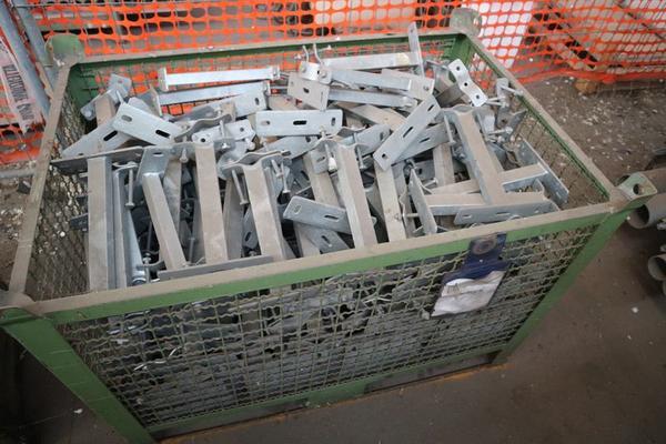 Immagine n. 56 - 1#3793 Trapano radiale HCP e prodotti finiti per pali antenne