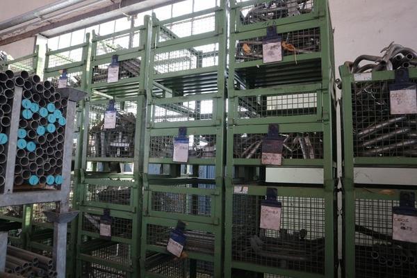 Immagine n. 59 - 1#3793 Trapano radiale HCP e prodotti finiti per pali antenne