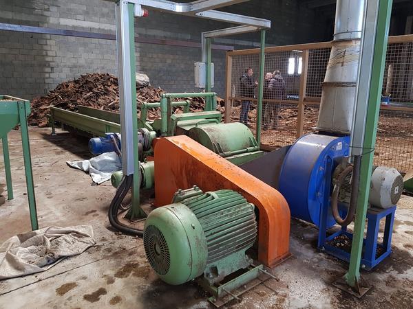 1#3798 Impianto granulazione del sughero