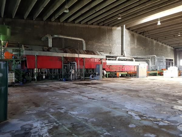 2#3798 Impianto produzione pannelli di sughero