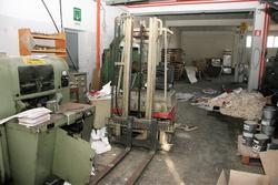 Opel Cors car and Linde forklift - Lote 2 (Subasta 3804)