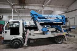 Sequani mod 20   2Z truck mounted platform - Lote 1 (Subasta 3814)