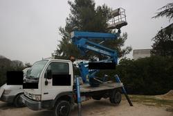 Sequani mod Z 20E truck mounted platform - Lot 4 (Auction 3814)