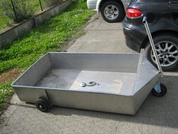 Stainless trolley for marc - Lot 5 (Auction 3818)