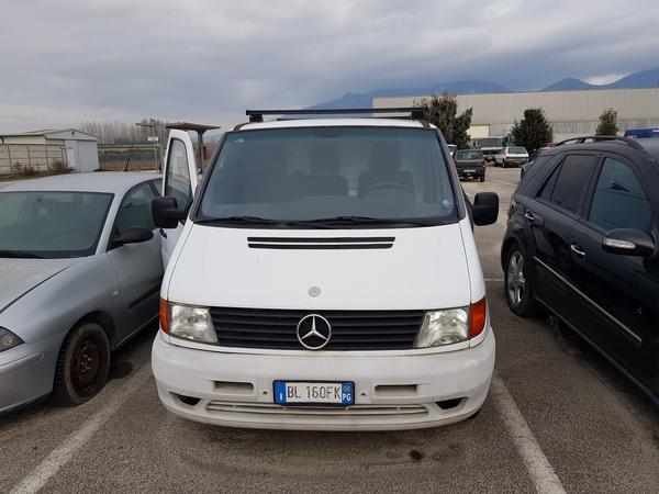 3#3823 Furgone Mercedes Benz
