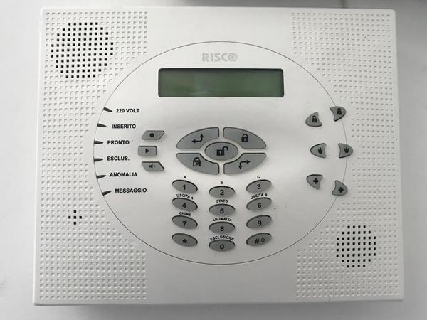 8#3825 Impianto di videosorveglianza e allarme