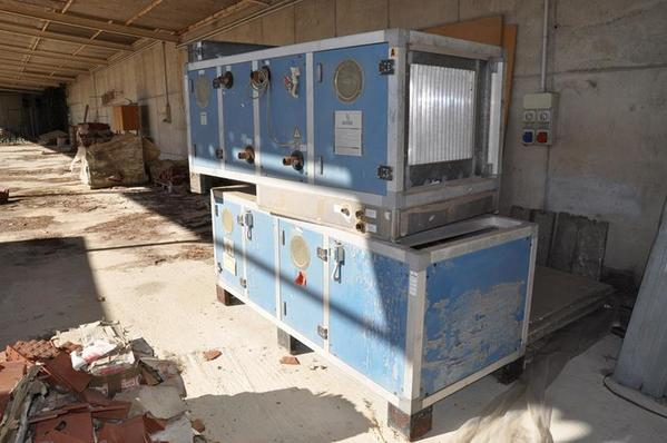 13#3834 Impianto di climatizzazione industriale Simcea