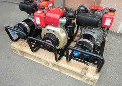 Generator sets with diesel engines and pull starter - Lot 1 (Auction 3841)