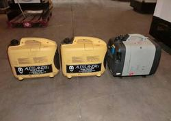 Generator sets with petrol engines - Lot 3 (Auction 3841)