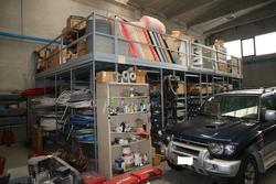 Autocarro Mitsubishi Outlander e soppalco Metalsistem - Asta 3847