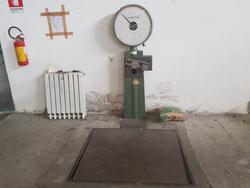 Santo Stefano scale and Ducci welding machine - Lot 2 (Auction 3869)